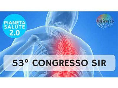 53° congresso SIR Società Italiana di Reumatologia. PIANETA SALUTE 2.0 - 48 PUNTATA