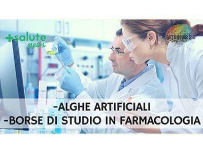 Prime alghe artificiali. Borse di studio SIF. +SALUTE NEWS 79a PUNTATA