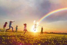 Siamo tutti cacciatori di arcobaleno per i piccoli con HLH #ilmioarcobaleno