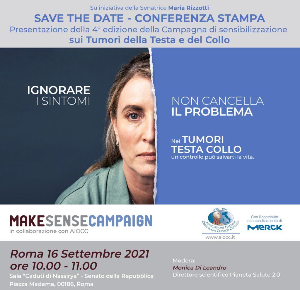 campagna di sensibilizzazione sulla diagnosi precoce dei tumori testa-collo